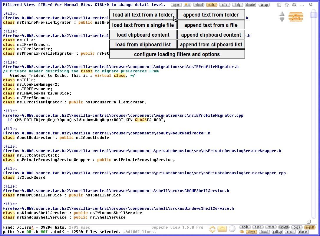Depeche View PRO full screenshot