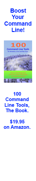 100 Command Line Tools - The Book